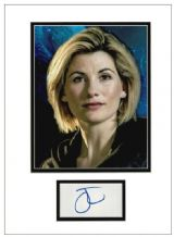 Jodie Whittaker Autograph Signed Display - Doctor Who